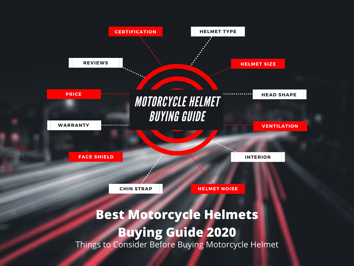 Best Motorcycle Helmet Buying Guide - Infographic