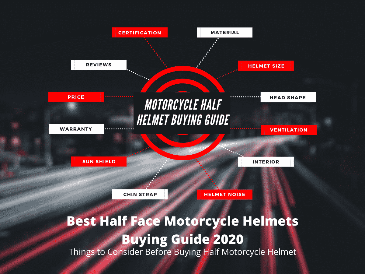 Best Half Face Motorcycle Helmet Buying Guide