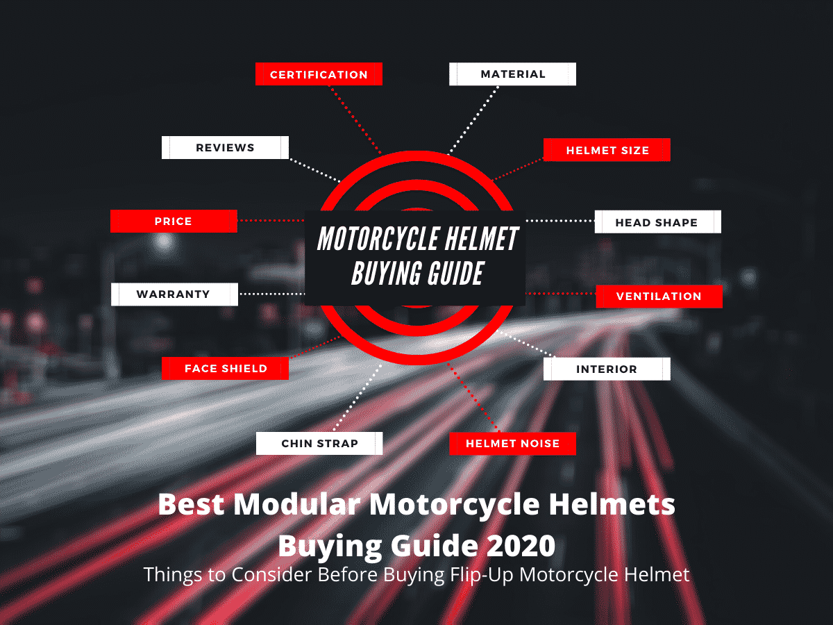 Best Modular Motorcycle Helmet Buying Guide