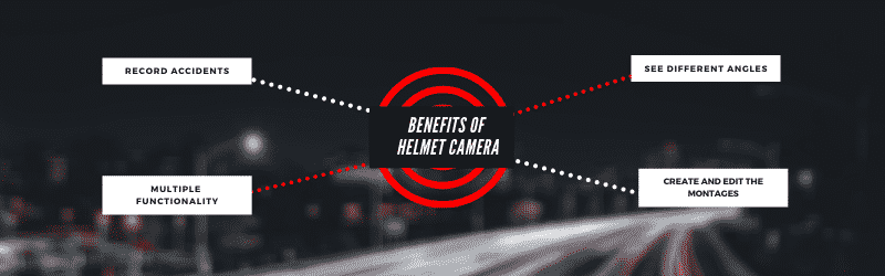 benefits fo motorcycle helmet camera