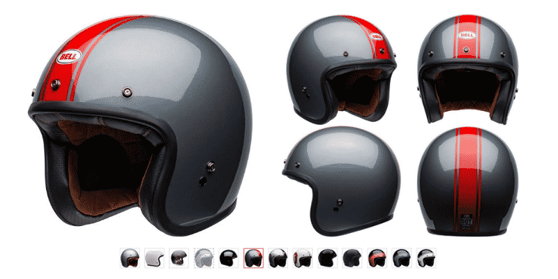 Bell Custom 500 Open-Face Helmet