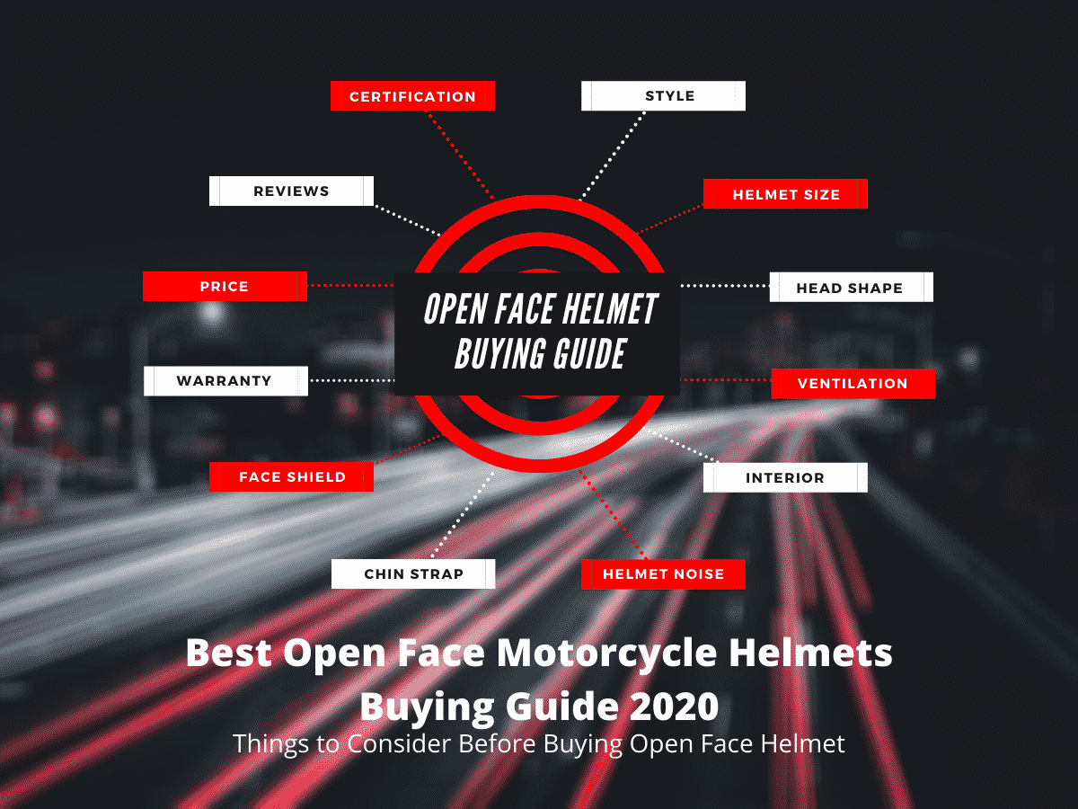 Best Open Face Motorcycle Helmet Buying Guide