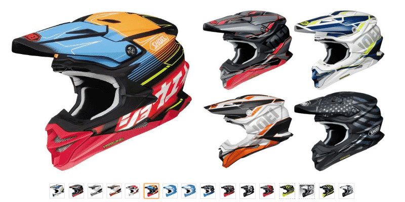 shoei VFX-EVO Off-Road Motorcycle Helmet
